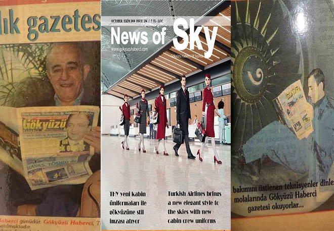Türkiye'nin ilk ve tek havacılık dergisi 19 yaşında!