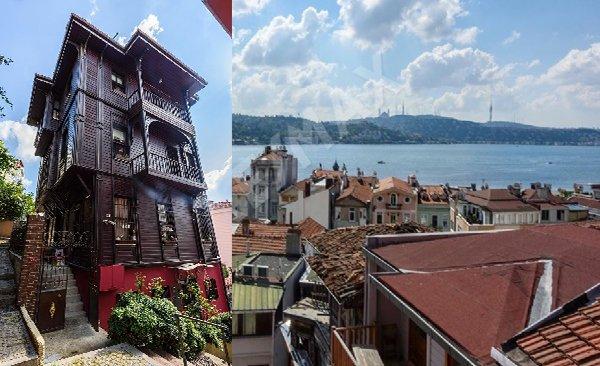 Türkiye'nin en havalı semtindeki köşk ilgi odağı oldu