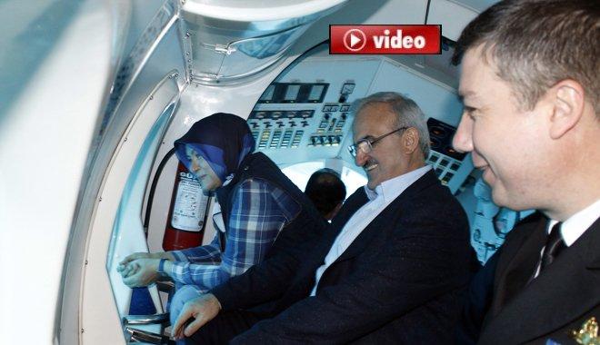 Türkiye'nin ilk turistik denizaltısı