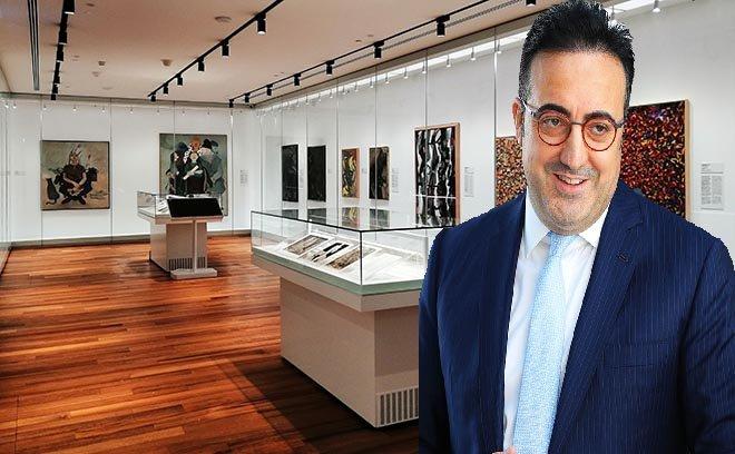 Türkiye'nin modern sanatının tanıtımına katkı!