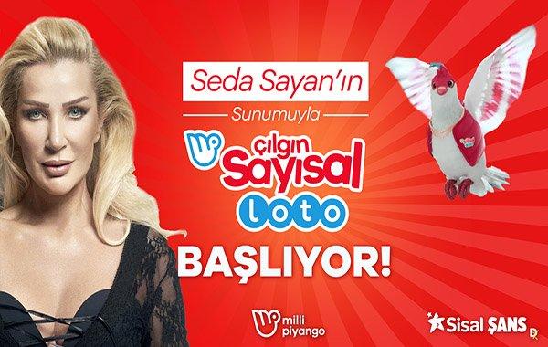 TV8'deki Loto çekiliş yayınına Seda Sayan renk kattı!