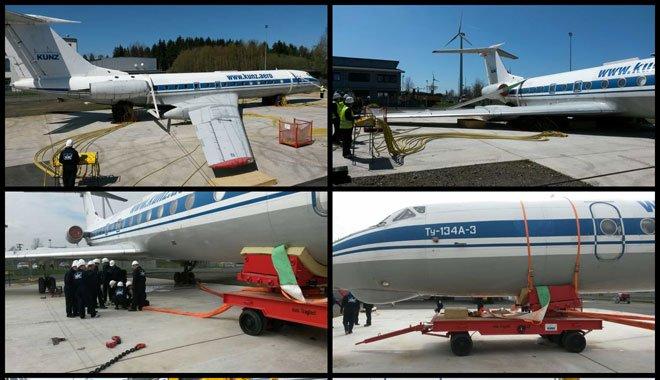 Uçak Kurtarma Eğitimi