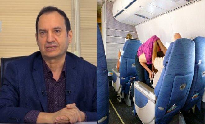 Uçakta bel ve boyun ağrılarına dikkat!