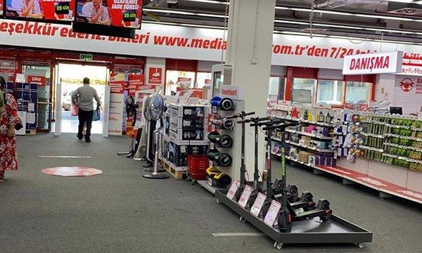Ulaşımda yeni trend MediaMarkt Mağazalarında