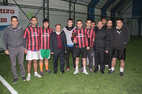 Üzümlü Halı Saha Futbol Turnuvası Sona Erdi!