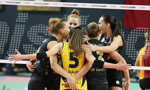 VakıfBank derbide Galatasaray'ı yendi
