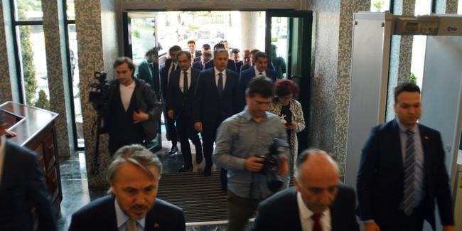 Vali Yerlikaya, İBB binasında