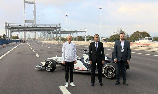 """Vali Yerlikaya'dan """"Formula 1"""" paylaşımı(video)"""