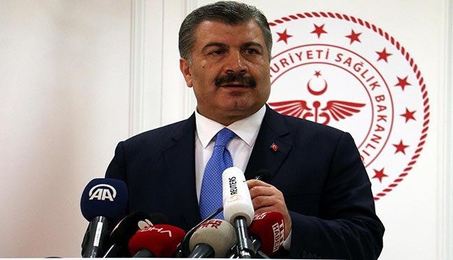 video Bakan Koca,Korona virüs Türkiye'de!