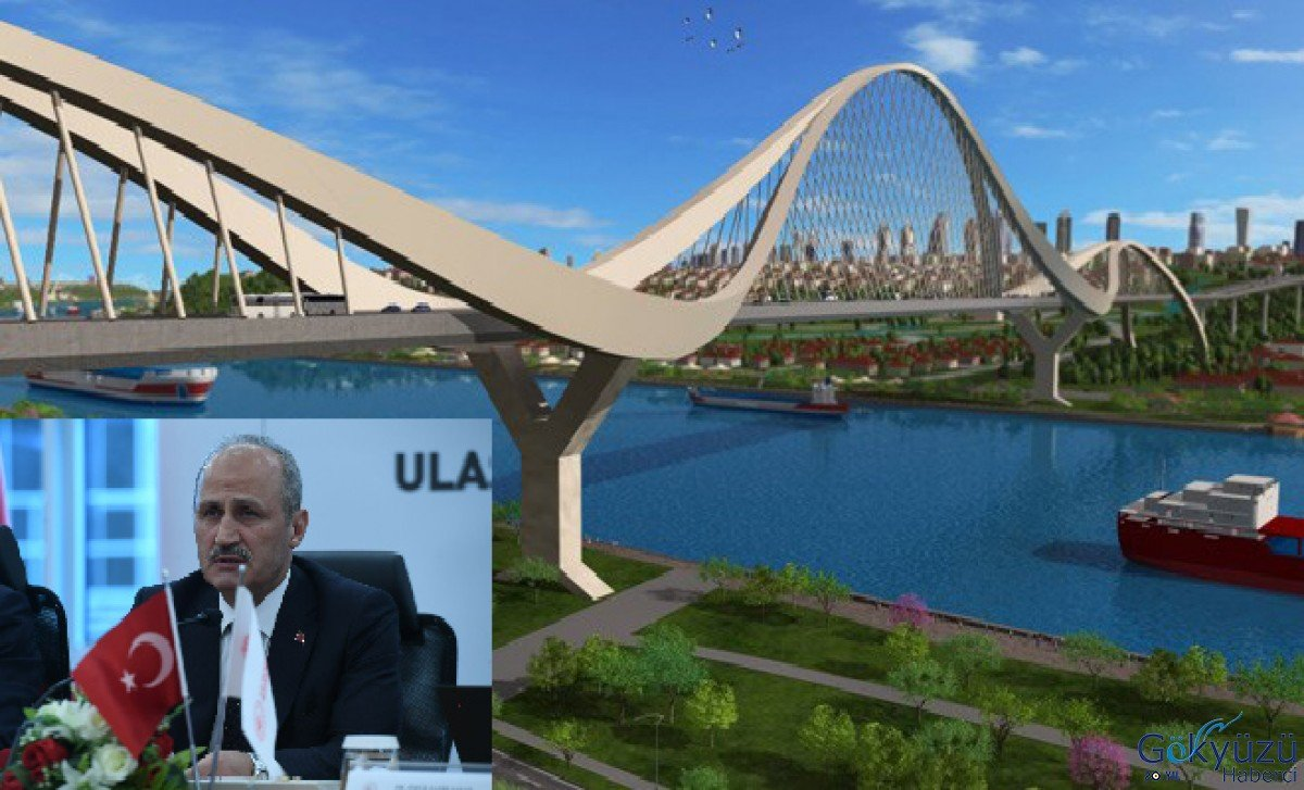 video Bakan Turhan: Kanal İstanbul'a kazmayı vuracağız!