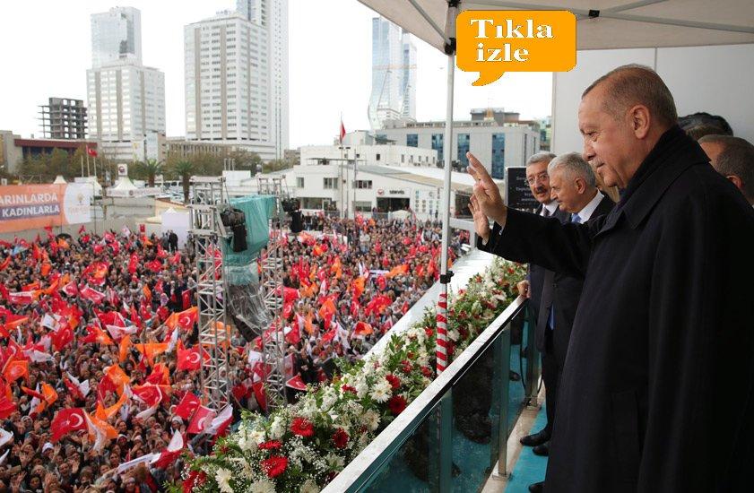 video Erdoğan İzmir Kiraz'da Vatandaşlarımızla Buluştu