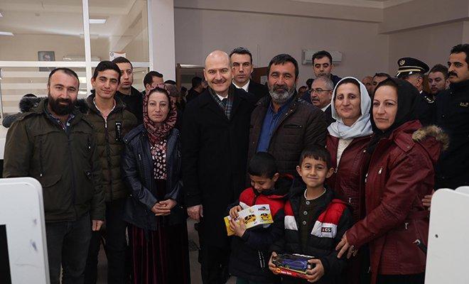 video Süleyman soylu Mardin Kızıltepe'de