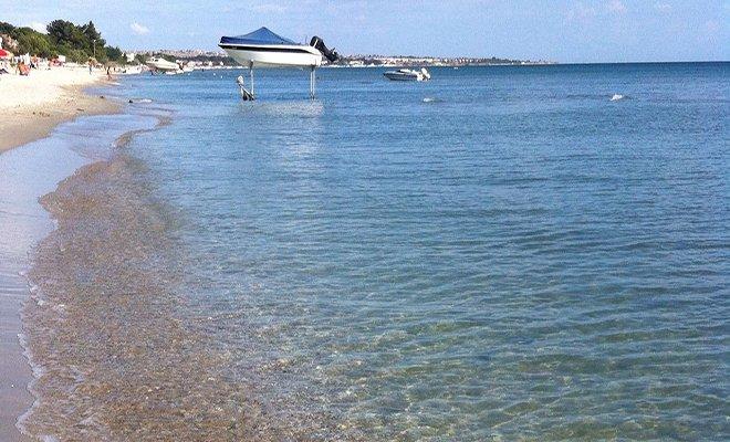 video Tekirdağ Mavi Bayraklı Plajlarıyla Tatilcileri Bekliyor