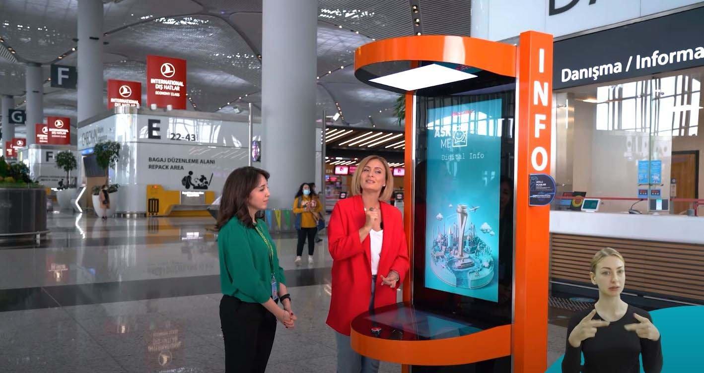 video#Engelli dostu İstanbul Havalimanı  (video)