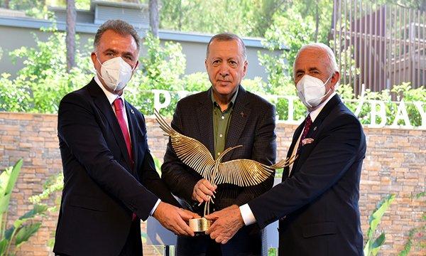 Erdoğan: İnşallah hep beraber yeni döneme giriyoruz