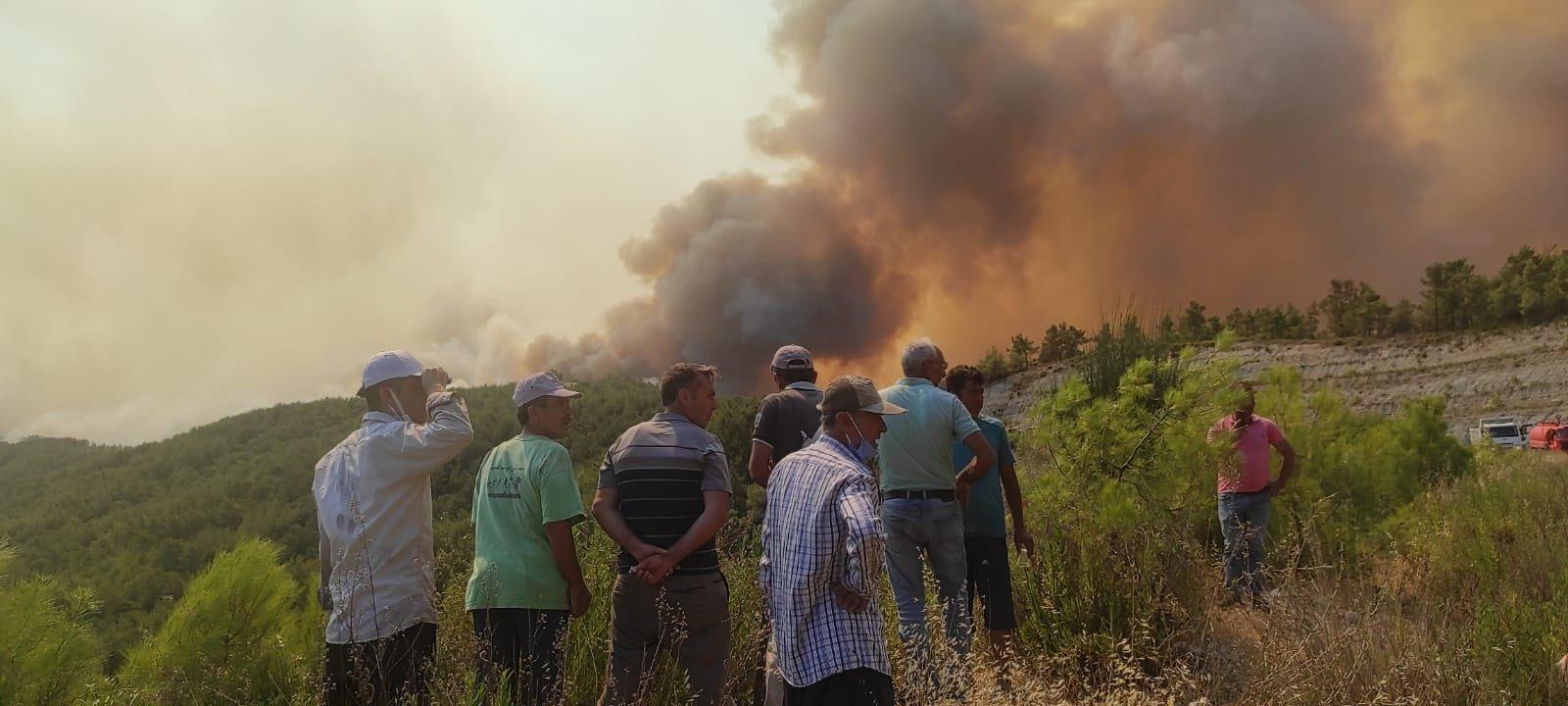 video#Manavgat'taki büyük yangın 4'üncü gününde
