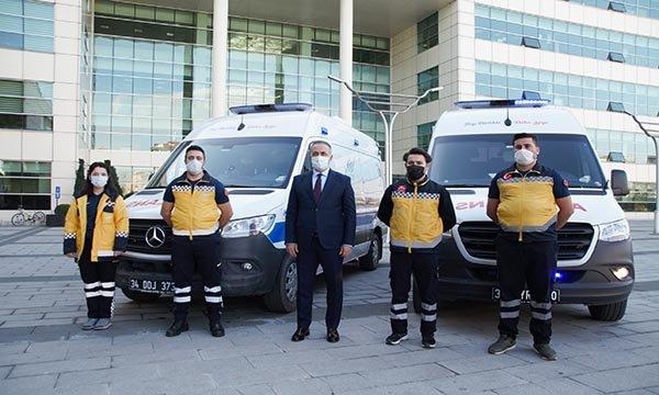 (video)Sultangazi'de 2 hasta nakil ambulansı hizmete başladı
