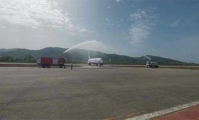 video#SunExpress'in Zonguldak - Düsseldorf uçuşları başladı