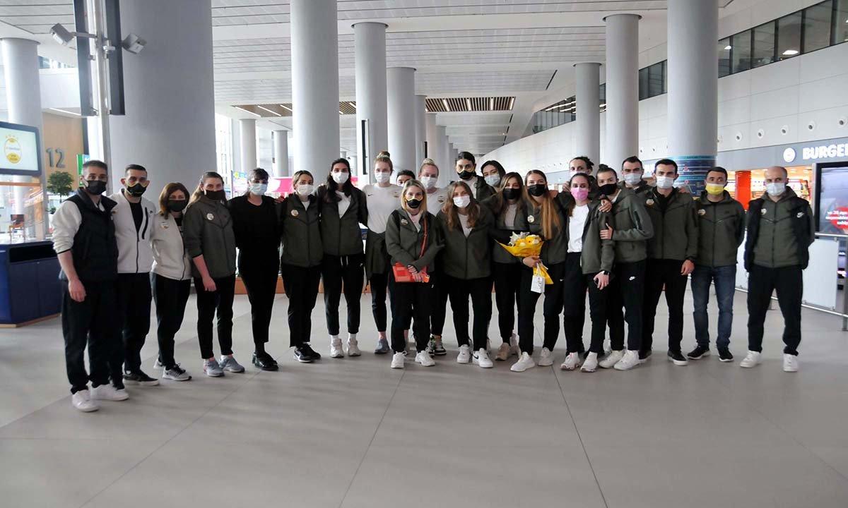 video#Vakıfbank Kadın Voleybol Takımı, yurda döndü