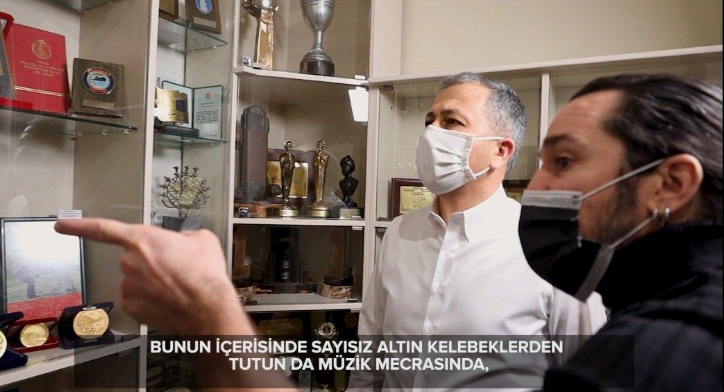 (video)Vali Yerlikaya Barış Manço Müzesi'ni ziyaret etti