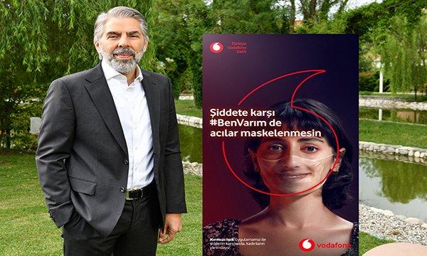 """Vodafone'dan """"Şiddete karşı #BenVarım"""