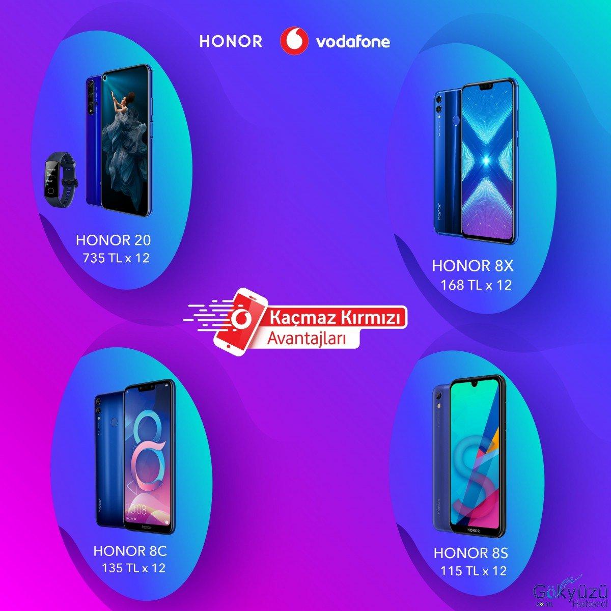 Vodafone Kaçmaz Kırmızı Günleri