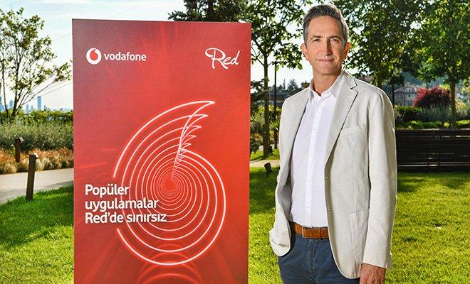 Vodafone Red'lilere en popüler uygulama sınırsız olacak