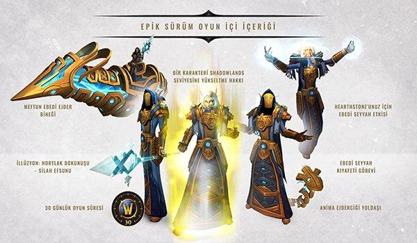 World of Warcraft Shadowlands Koleksiyoncu Sürümü Detayları Açıklandı