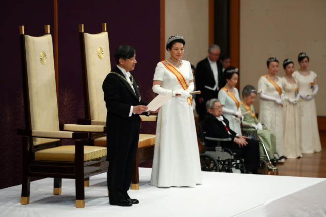 Xi Yeni Japonya İmparatoru Naruhito'yu Kutladı