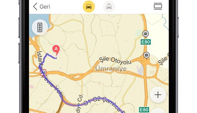 Yandex.Haritalar Uygulaması Tamamen Yenilendi