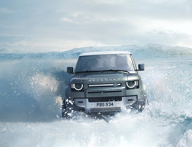 Yeni Land Rover Defender