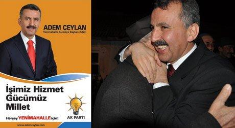 Yenimahalle Belediye Başkan Adayı Adem Ceylan
