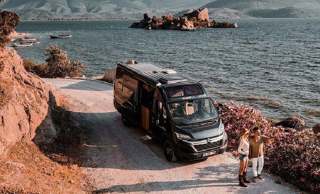 Yerli karavan İstanbul'da tanıtıldı
