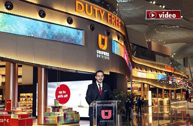 Yerli üretici Unifree Dutyfree ile dünyaya açılıyor