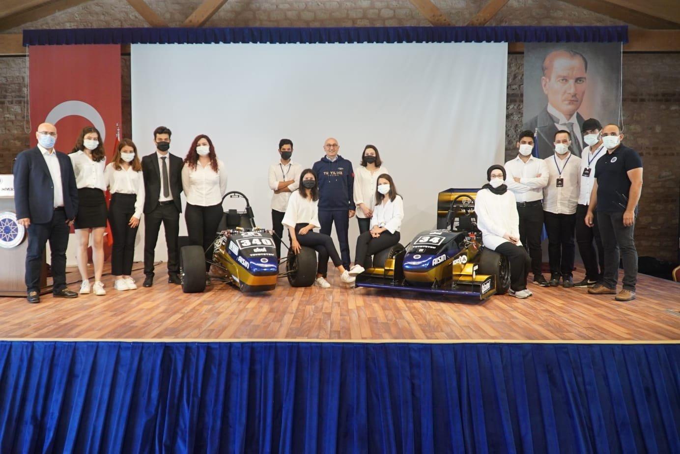 Yıldız Teknik Üniversitesi Racing Takımı Bu Yıl Ürettiği İki Araç ile Avrupa'da Yarışacak