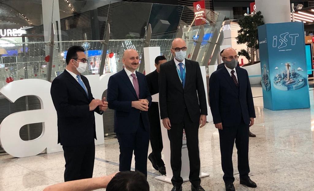 İstanbul Havalimanı'ndan 12 milyon 907 bin yolcu uçtu