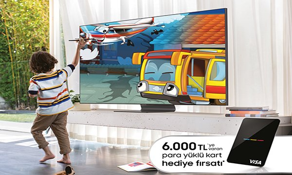 """Yılın Kampanyası Samsung """"Büyük TV Günleri"""" başladı!"""