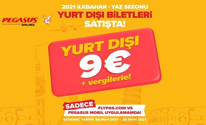 (video)Yurt Dışı Uçuşları  sadece 9 € + vergilerle!