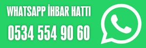 WhatsApp İhbar Hattı